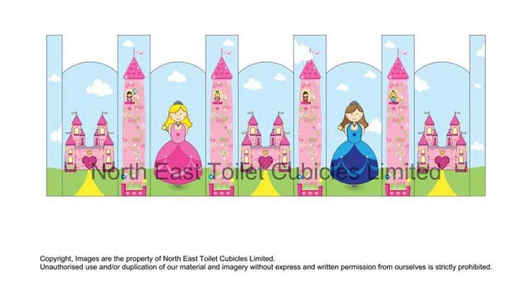 Princess Castle Door Art Design