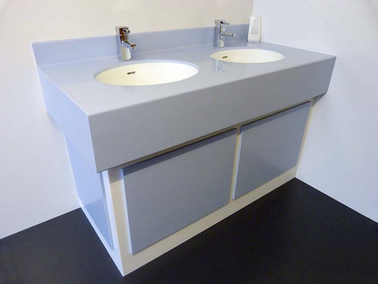 Solid Surface Vanity Units